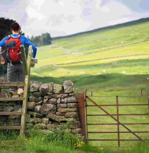 Does farm insurance cover walkers on farms?