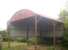 Rebuilding costs for a Round roof hayshed