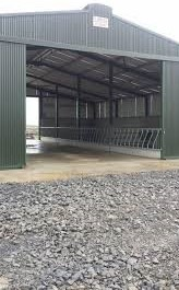 Rebuilding costs for Slatted shed for cows