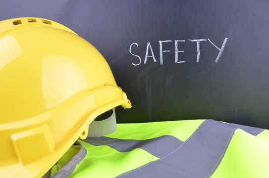 We highlight the importance of having a safety statement as a tradesman